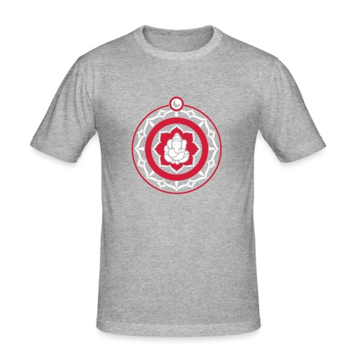 Ganesha mandala - Mannen slim fit T-shirt