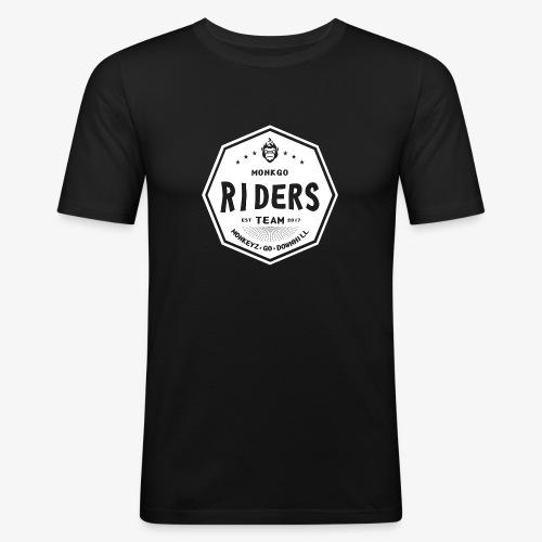 MonkGo Riders Team - Männer Slim Fit T-Shirt