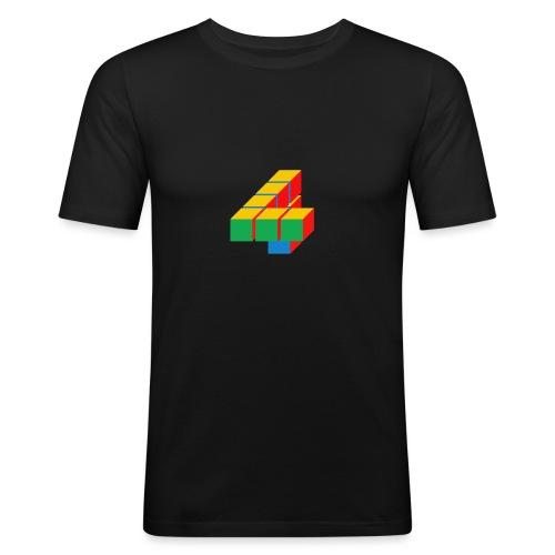 4 - Mannen slim fit T-shirt