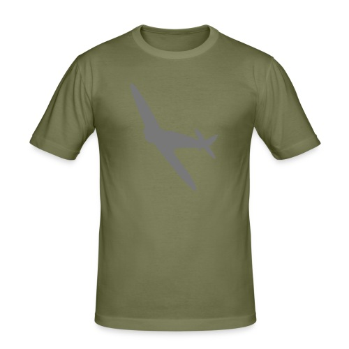 Spitfire Silhouette - Men's Slim Fit T-Shirt