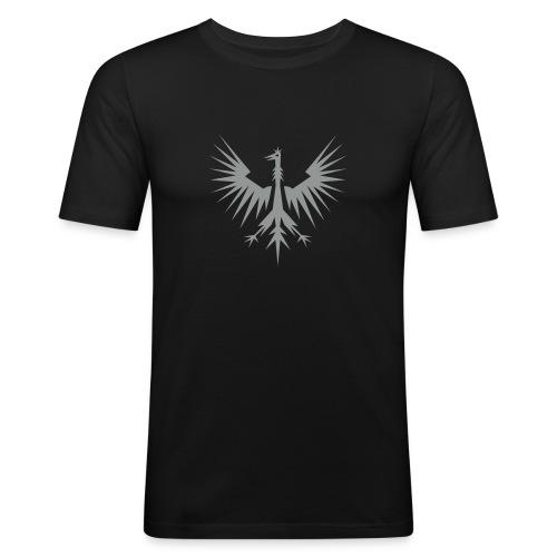 adler-wappen - Männer Slim Fit T-Shirt