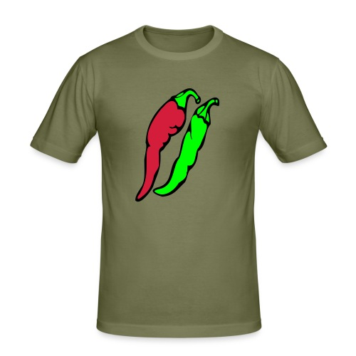Chilli - Obcisła koszulka męska