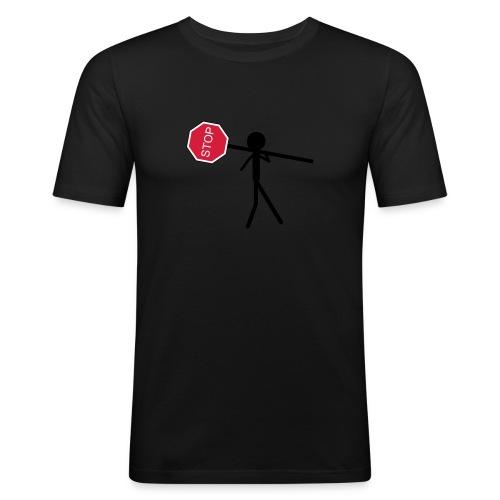 logostop - T-shirt près du corps Homme