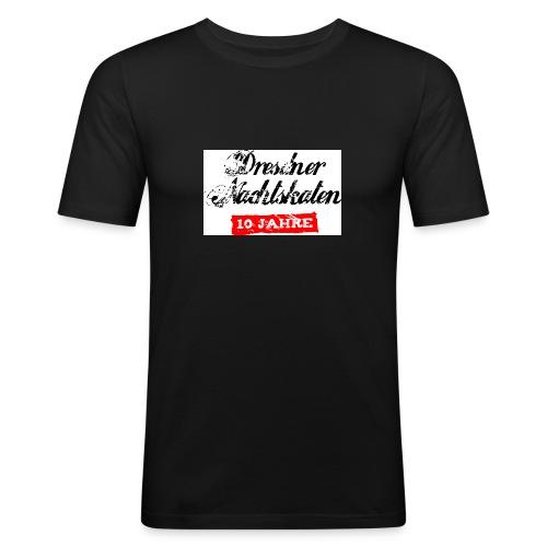 nachtskaten 10jahre - Männer Slim Fit T-Shirt
