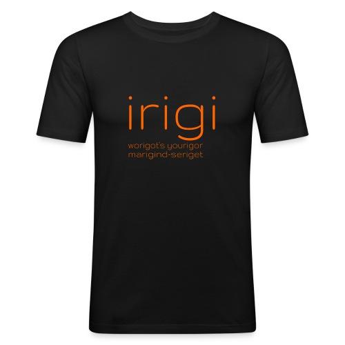 irigi-logo-007 - Men's Slim Fit T-Shirt