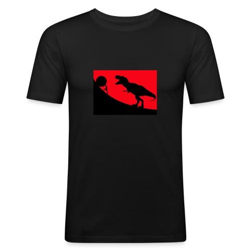 t rex red - Männer Slim Fit T-Shirt