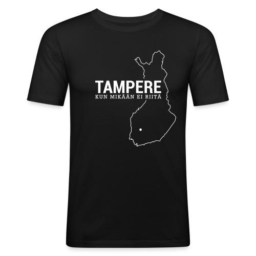 Kotiseutupaita - Tampere - Miesten tyköistuva t-paita
