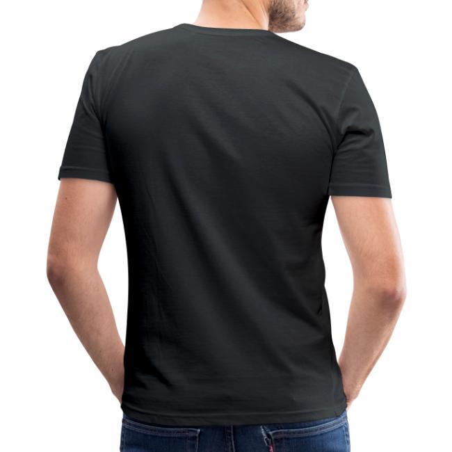 Vorschau: Gscheid woas ned owa leiwaund - Männer Slim Fit T-Shirt