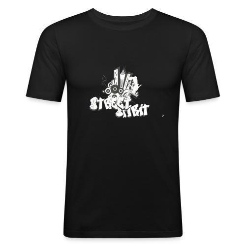 Street2 png - T-shirt près du corps Homme