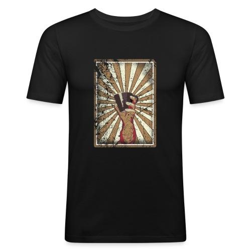 Coffee revolution! - Mannen slim fit T-shirt