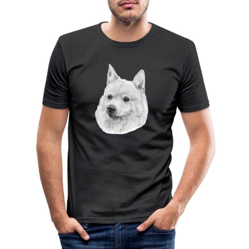 norwegian Buhund - Herre Slim Fit T-Shirt