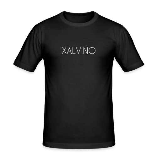 Xalvino (White) - Mannen slim fit T-shirt