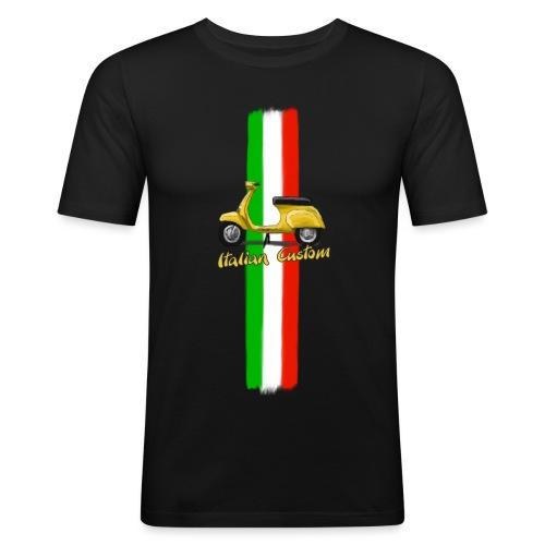 Italian Custom V0l.2.png - Männer Slim Fit T-Shirt