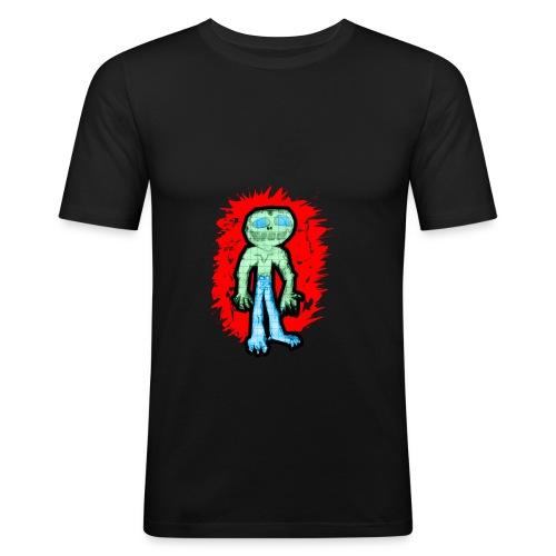 lovismonster3x - Männer Slim Fit T-Shirt