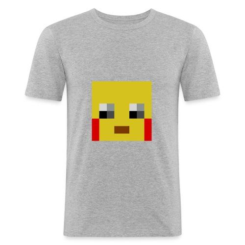 face - Men's Slim Fit T-Shirt