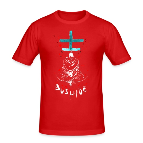 Bushido - Der Weg des Kriegers - Men's Slim Fit T-Shirt