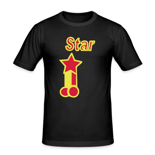 Pornstar! - Men's Slim Fit T-Shirt