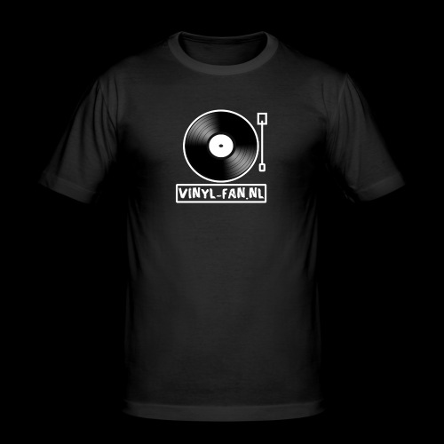 Vinyl-fan.nl - Mannen slim fit T-shirt