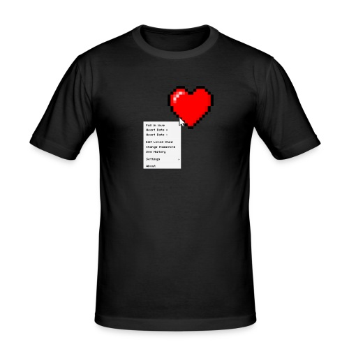 Options of the heart - Herre Slim Fit T-Shirt