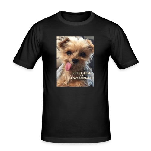 Dog - Männer Slim Fit T-Shirt