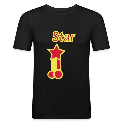 Pornstar! - Men's Slim Fit T-Shirt