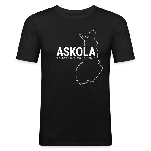 Kotiseutupaita - Askola - Miesten tyköistuva t-paita
