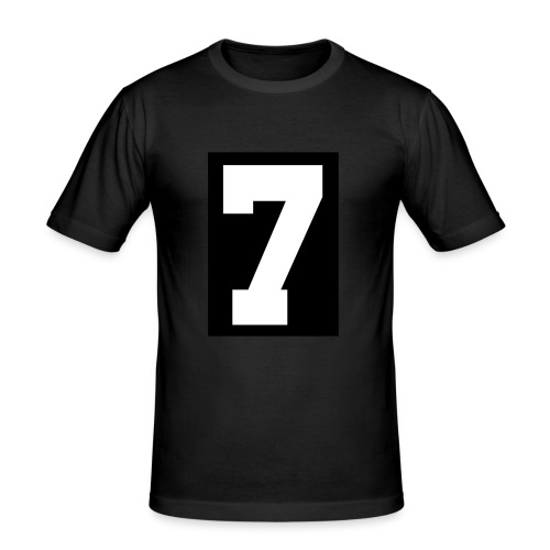 edge seven ok - Men's Slim Fit T-Shirt