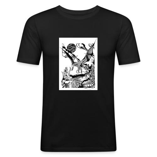 guerrera - Camiseta ajustada hombre