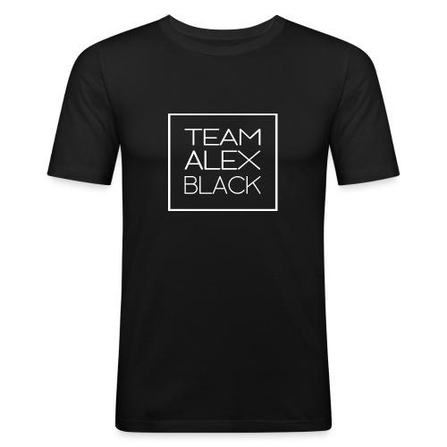 ALEXBLACKtransparent blanc png - T-shirt près du corps Homme