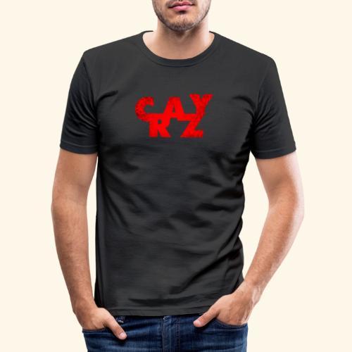 CRAZY - Men's Slim Fit T-Shirt