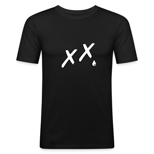 BignewlogoeyesNOBG gif - Men's Slim Fit T-Shirt