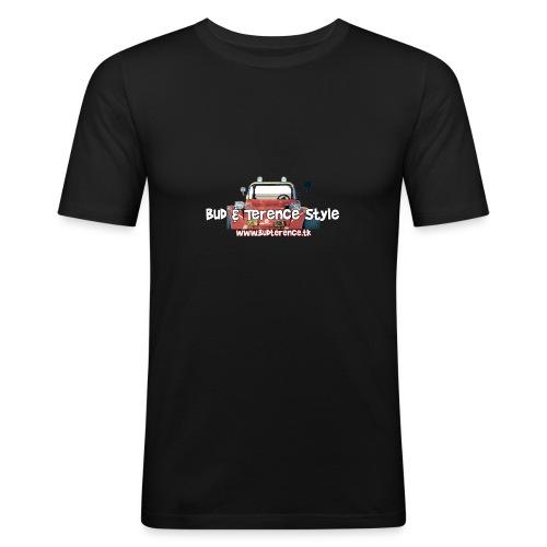 Bud Terence Style logo - Men's Slim Fit T-Shirt