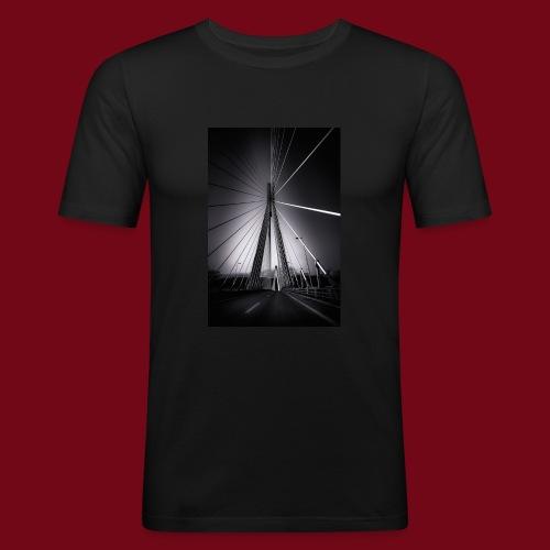 Rio-Andirrio-Brücke - Männer Slim Fit T-Shirt