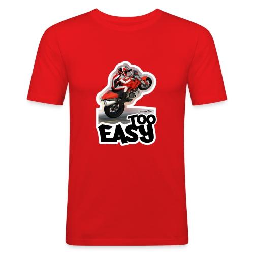 Ducati Monster Wheelie A - Camiseta ajustada hombre