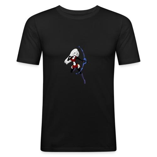 Moon - Männer Slim Fit T-Shirt