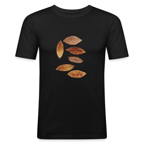 Bunte Blätter - Männer Slim Fit T-Shirt