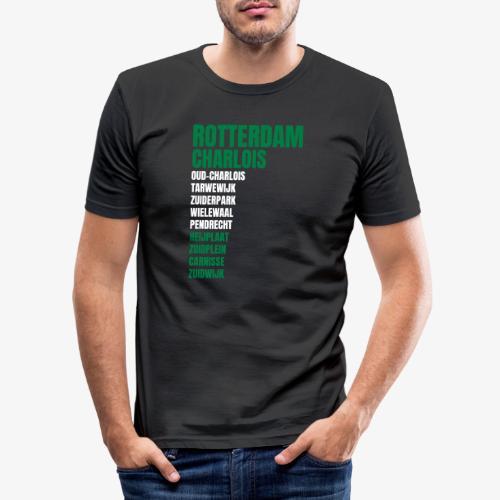 CHARLOIS KLEUR - Mannen slim fit T-shirt