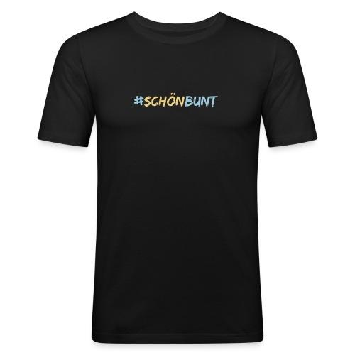 schön bunt - Men's Slim Fit T-Shirt