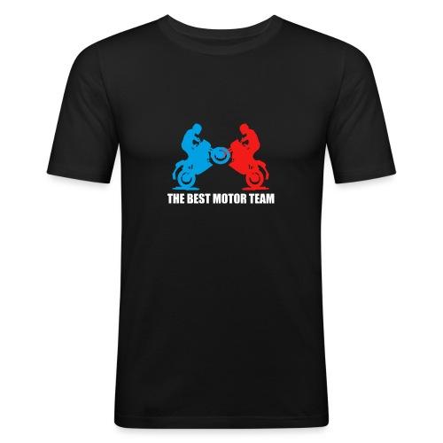 Najlepszy zespół motocyklistów - Obcisła koszulka męska