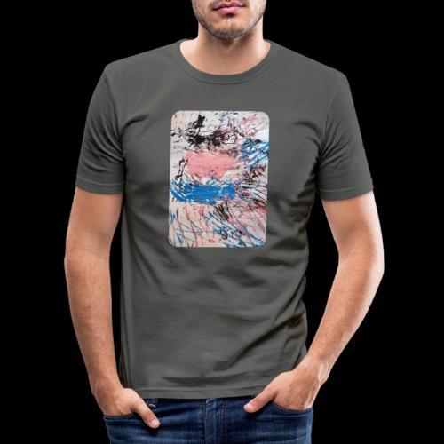 Emelie Kunstwerk V. - Männer Slim Fit T-Shirt