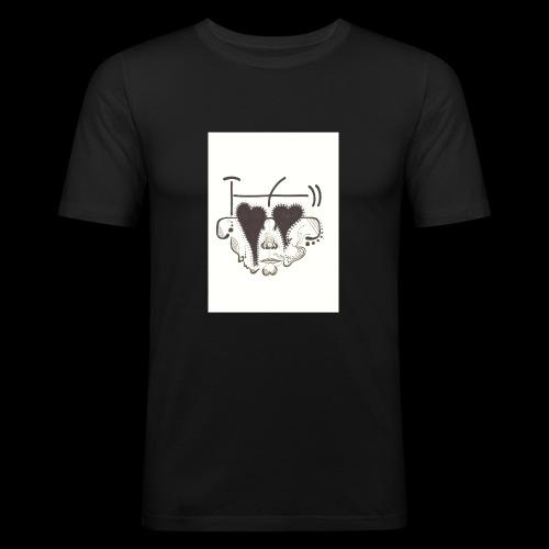 Rio Gia Centro Para Artistas - Men's Slim Fit T-Shirt