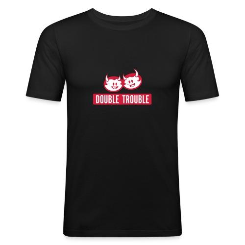dt logo rw - Männer Slim Fit T-Shirt
