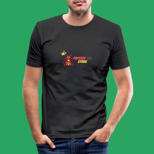 Fantasy big store - Maglietta aderente da uomo