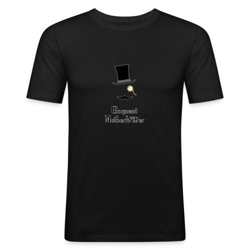 Eloquent Motherf#%?er bordered - Slim Fit T-shirt herr