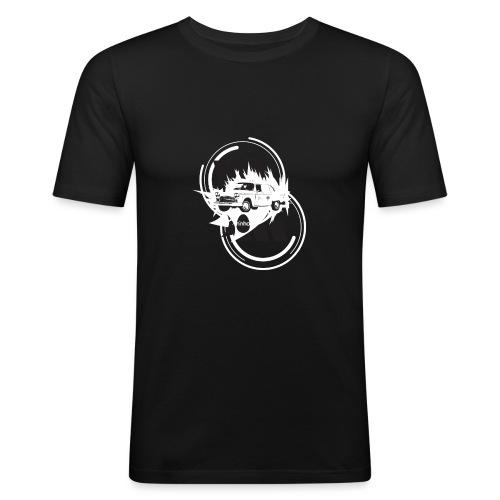 ninho-taxi - Maglietta aderente da uomo