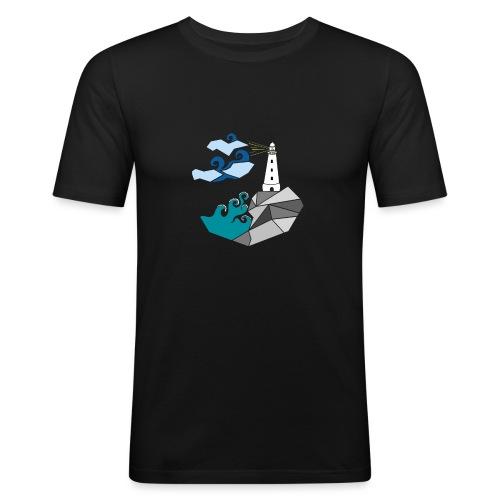 lighthouse - Men's Slim Fit T-Shirt