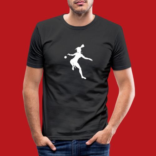 Joueur d'Ulama - T-shirt près du corps Homme