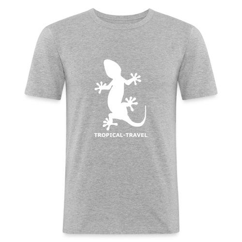 tropical-travel - Männer Slim Fit T-Shirt