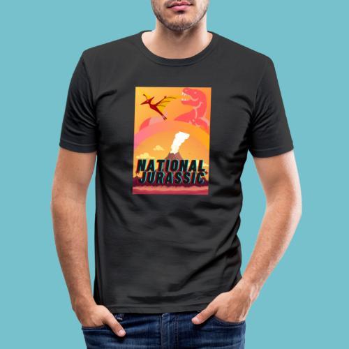 Cretaceous Extinction - Men's Slim Fit T-Shirt