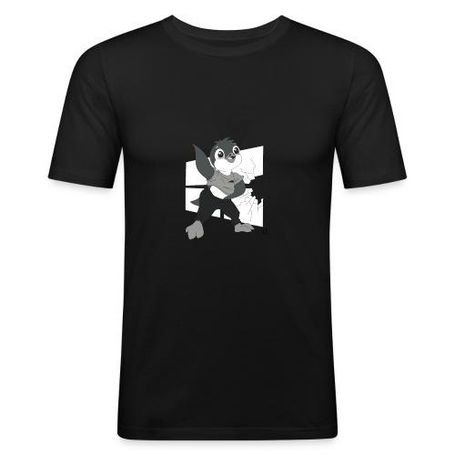Le pingouin de Nice - T-shirt près du corps Homme